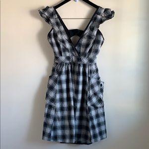 Warehouse Pinafore dress
